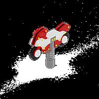 Качалка на пружине Мотоцикл, металлический