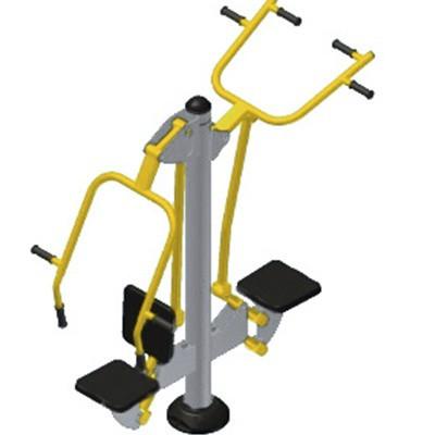 Уличный тренажер для мышц пресса рук ног спины