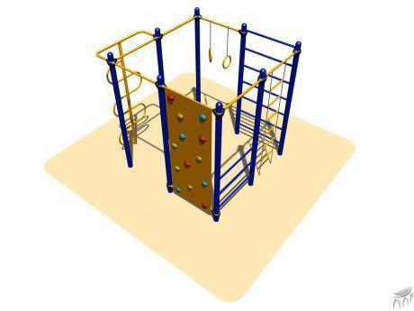Спортивное оборудование Romana, гимнастические кольца, шведская стенка, скалодром