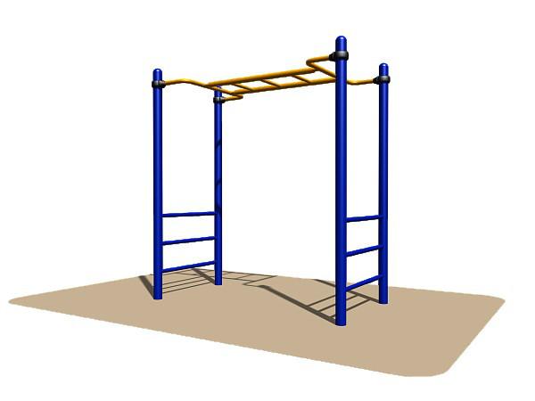 Спортивное оборудование Romana, лестница, рукоход, металл