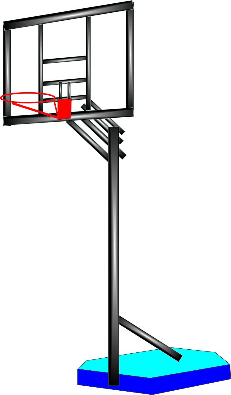 Баскетбольный щит металлический, устойчивый