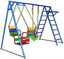 Детский комплекс, качеля лодочка, подвесная качеля, лестница гимнастическая