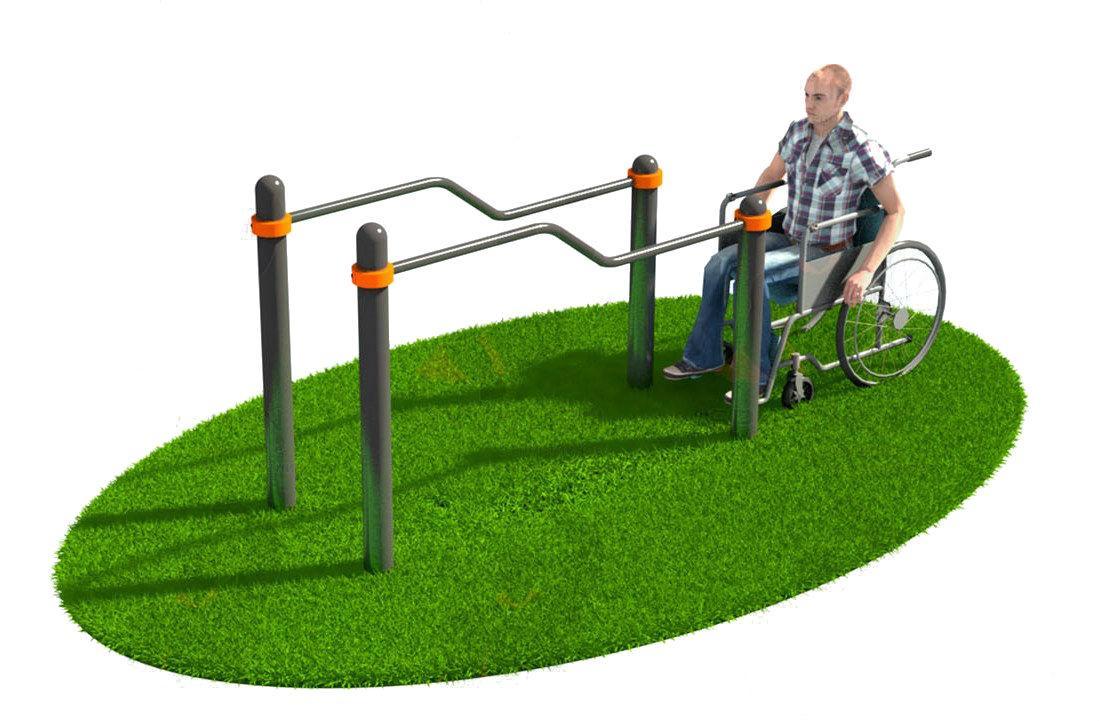 Тренажер для людей с ограниченными возможностями