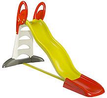 Горка XL, с нескользящими ступенями, пластиковая, с подключаемым шлангом