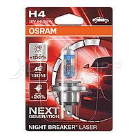 OSRAM NIGHT BREAKER LASER H4 +150%, фото 1
