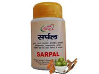 Сарпал , Шри Ганга (Sarpal, Shri Ganga), При бессоннице, гипертонии, головной боли. 100 табл.