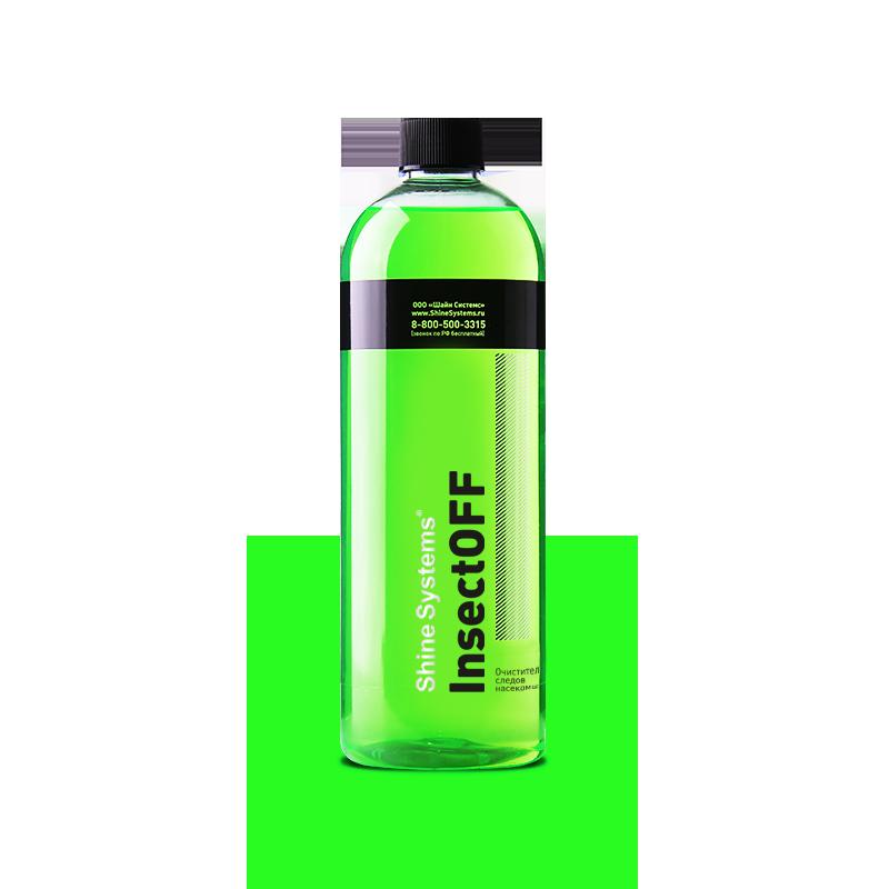 InsectOFF – очиститель следов насекомых (750 мл)