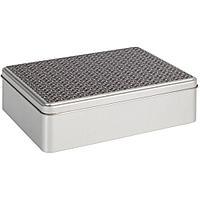 Коробка прямоугольная «Рыцарь», серебристая, фото 1