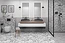 Кафель   Плитка настенная 20х60 Терраццо   Terrazzo серый пэчворк, фото 2