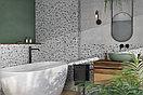 Кафель   Плитка настенная 20х60 Терраццо   Terrazzo серый пэчворк, фото 7