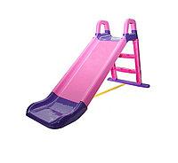 Горка Doloni средняя розовый/фиолетовый 014400/05