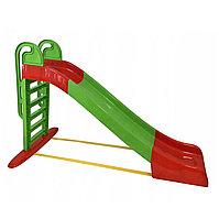 Горка Doloni детская большая красный/зеленый 014550/1