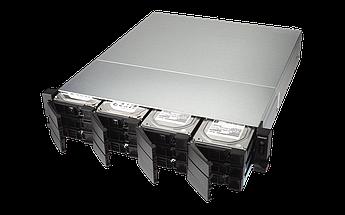 """Сетевое оборудование QNAP Сетевой RAID-накопитель, TS-1232XU-RP-4G EU-RU 12 отсеков 3,5""""/2,5"""", 2 порта 10 GbE"""