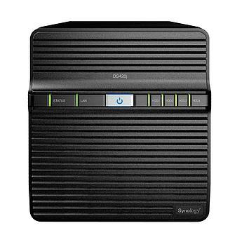 Сетевое оборудование Synology Сетевой NAS сервер DS420j 4xHDD для дома
