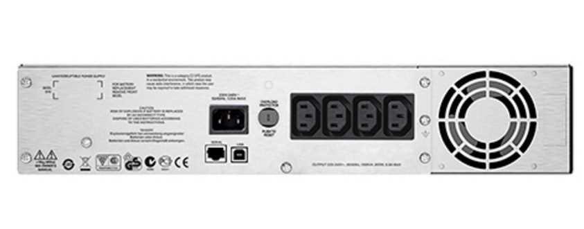 Источник бесперебойного питания APC Smart-UPS SC, Line-Interactive, 1500VA / 900W, Rack, IEC, LCD, USB