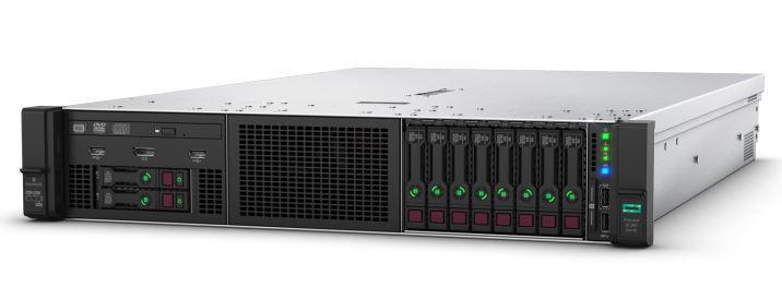 Сервер HPE DL380 Gen10, 1x 5218 Xeon-G 16C 2.3GHz, 1x32GB-R DDR4, P408i-a/2GB (RAID 1+0/5/5+0/6/6+0/1+0 ADM)