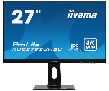 Монитор Iiyama XUB2792UHSU-B1 C LCD 27''