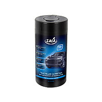 Чистящие салфетки для автомобиля универсальные ZALA 100 шт. ZL33400