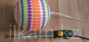Мячик с подсветкой на шнурке с ручкой (булава)