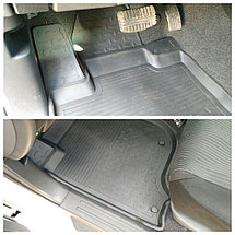 Резиновые коврики с высоким бортом для Mitsubishi Pajero Sport 2015-н.в., фото 2