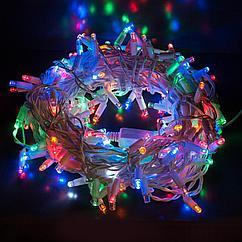 Гирлянды новогодние 8м RGB