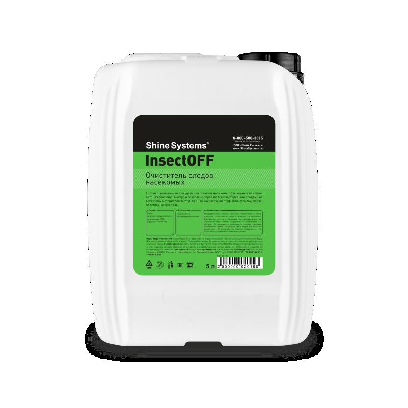 InsectOFF – очиститель следов насекомых (канистра 5л)