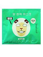 MINGKOU Тканевая маска увлажненение и улучшение цвета лица овечка