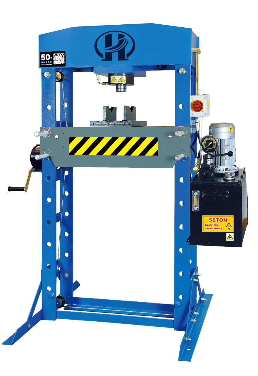 Пресс электрогидравлический, 50 тонн Sillan HJ0881