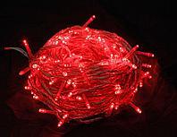 Гирлянды новогодние уличные 10м Красный