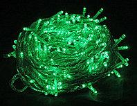Гирлянды новогодние уличные 10м Зеленый