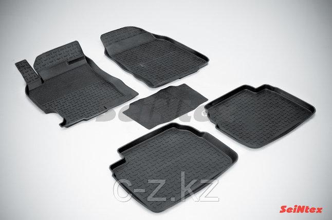 Резиновые коврики с высоким бортом для Mazda 6 (GH) 2008-2012, фото 2