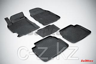 Резиновые коврики с высоким бортом для Mazda 6 (GH) 2008-2012