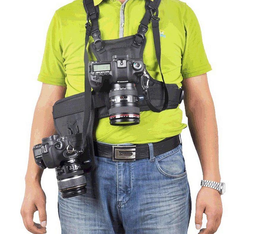 Ремень для 2-х фотоаппаратов или аксессуаров - фото 7