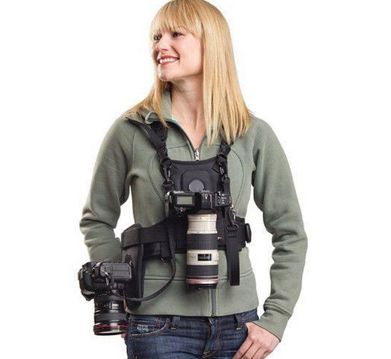 Ремень для 2-х фотоаппаратов или аксессуаров - фото 8