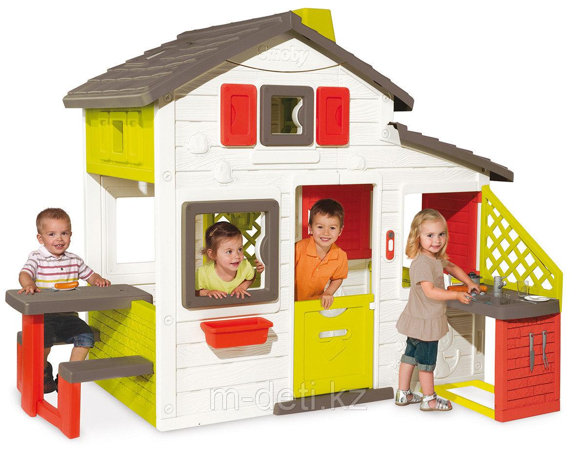 Домик для друзей с кухней 810200 Smoby