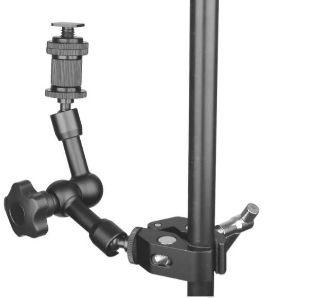 Зажим крепление для студийных аксессуаров металлический до 54 мм - фото 8