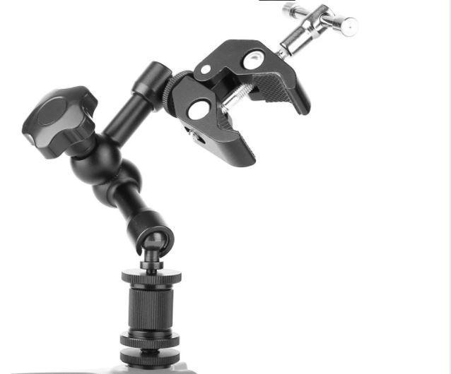 Зажим крепление для студийных аксессуаров металлический до 54 мм - фото 4