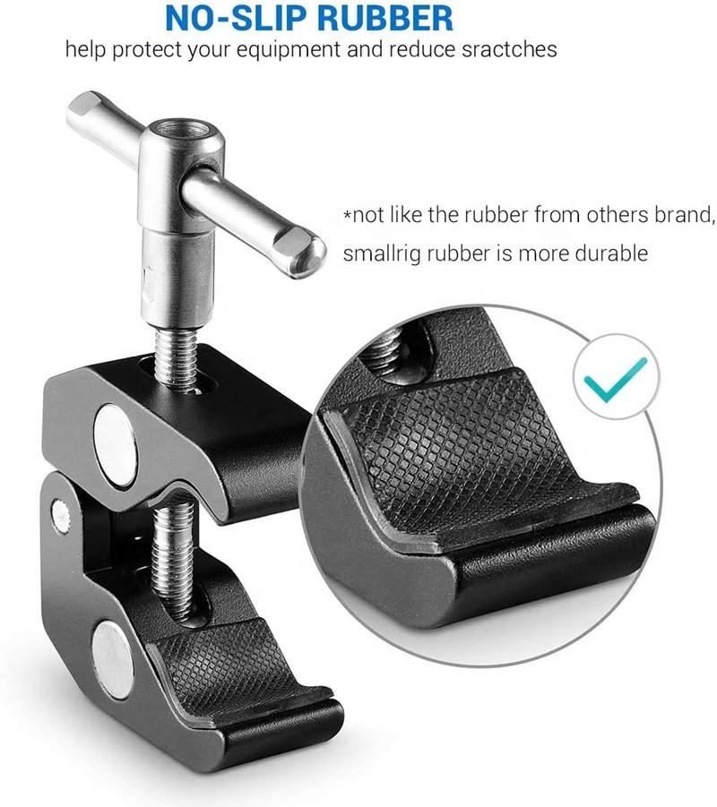 Зажим крепление для студийных аксессуаров металлический до 54 мм - фото 10