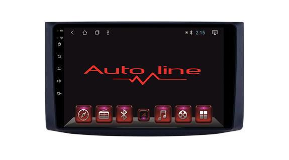 Автомагнитола AutoLine   Ravon R3 4-ядерный 2Gb+16Gb