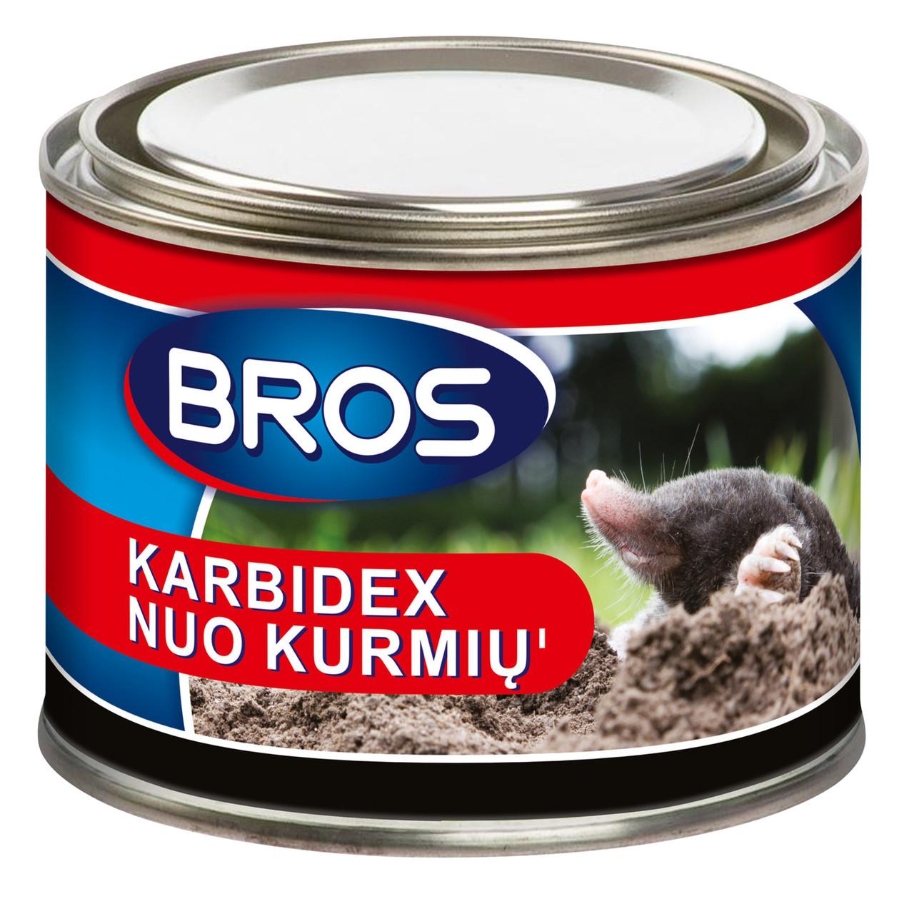 От кротов и землероек KARBIDEX Bros Брос