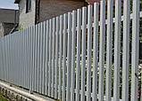 Евроштакетник с полимерным покрытием, глянец 0,45мм, фото 2
