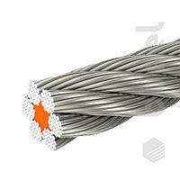 Канат стальной ГОСТ 2688-80  6,2 мм
