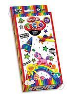 """Danko Toys Набор для творчества Тесто для лепки """"Master Do""""20 цветов"""