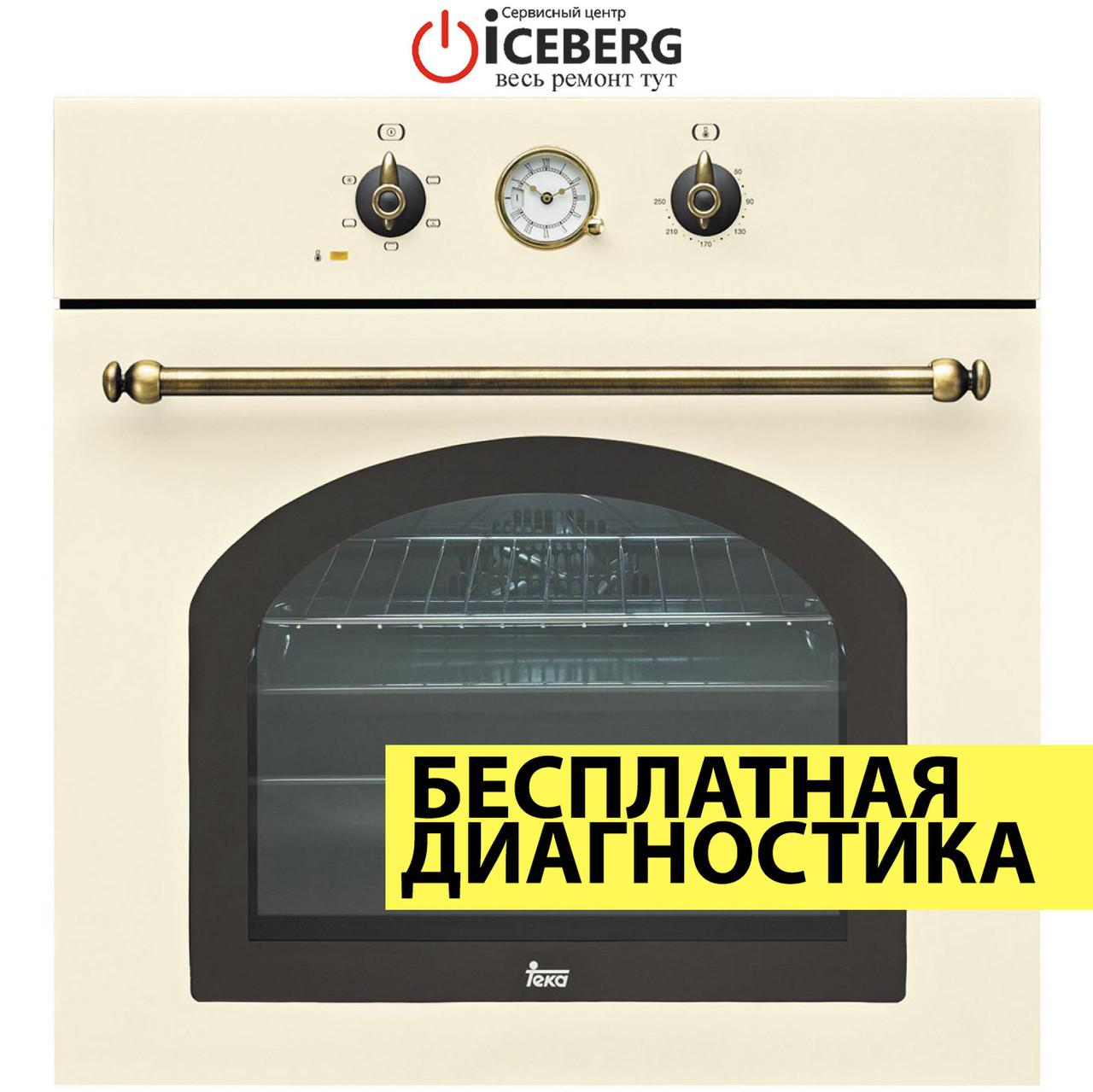 Ремонт духовых шкафов и электродуховок Teka