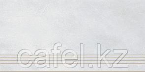 Керамогранит 30х60 - Таунхаус | Townhouse светло-серый ступень
