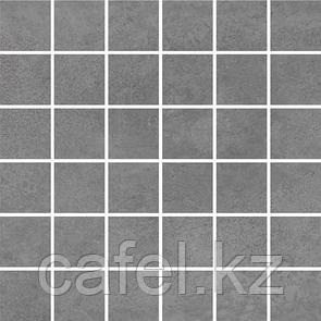 Керамогранит 30х60 - Таунхаус | Townhouse темно-серый мозайка
