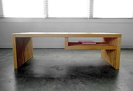 Параметрический книжный стол