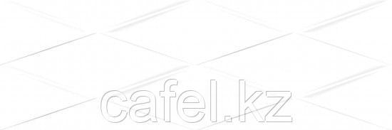 Кафель | Плитка настенная 25х75 Вегас | Vegas белый рельеф
