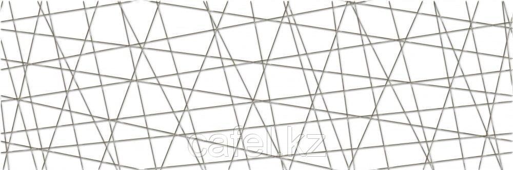 Кафель | Плитка настенная 25х75 Вегас | Vegas белый вставка