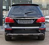 Насадка глушителя левая Mercedes-Benz GL X166 (2012-2015) AMG, фото 2